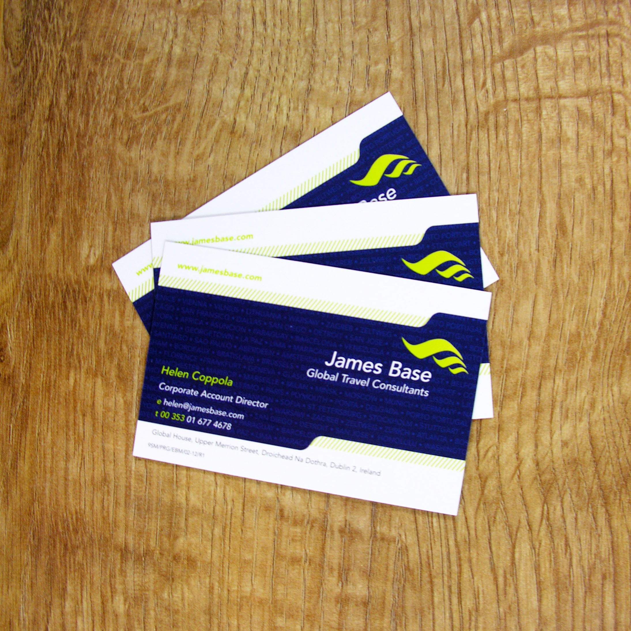 Laminated Business Cards - Colour Company Southampton
