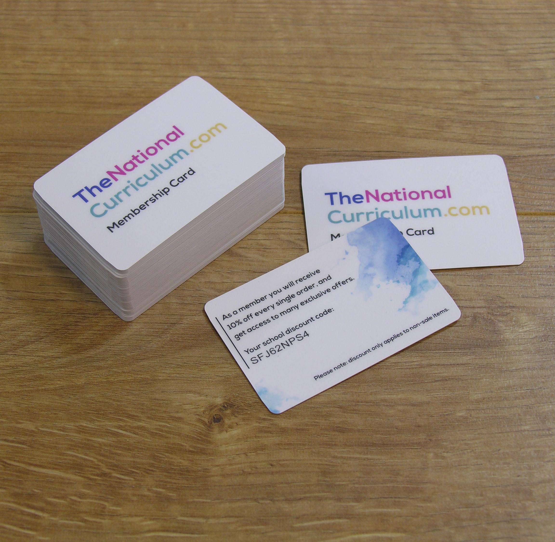 Plastic Cards - Colour Company Southampton