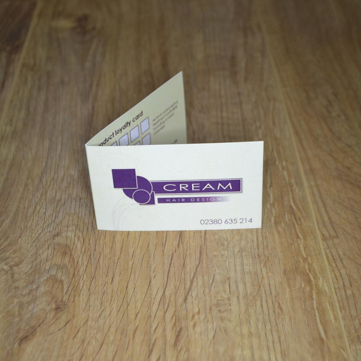 Folded Cards - Colour Company Southampton
