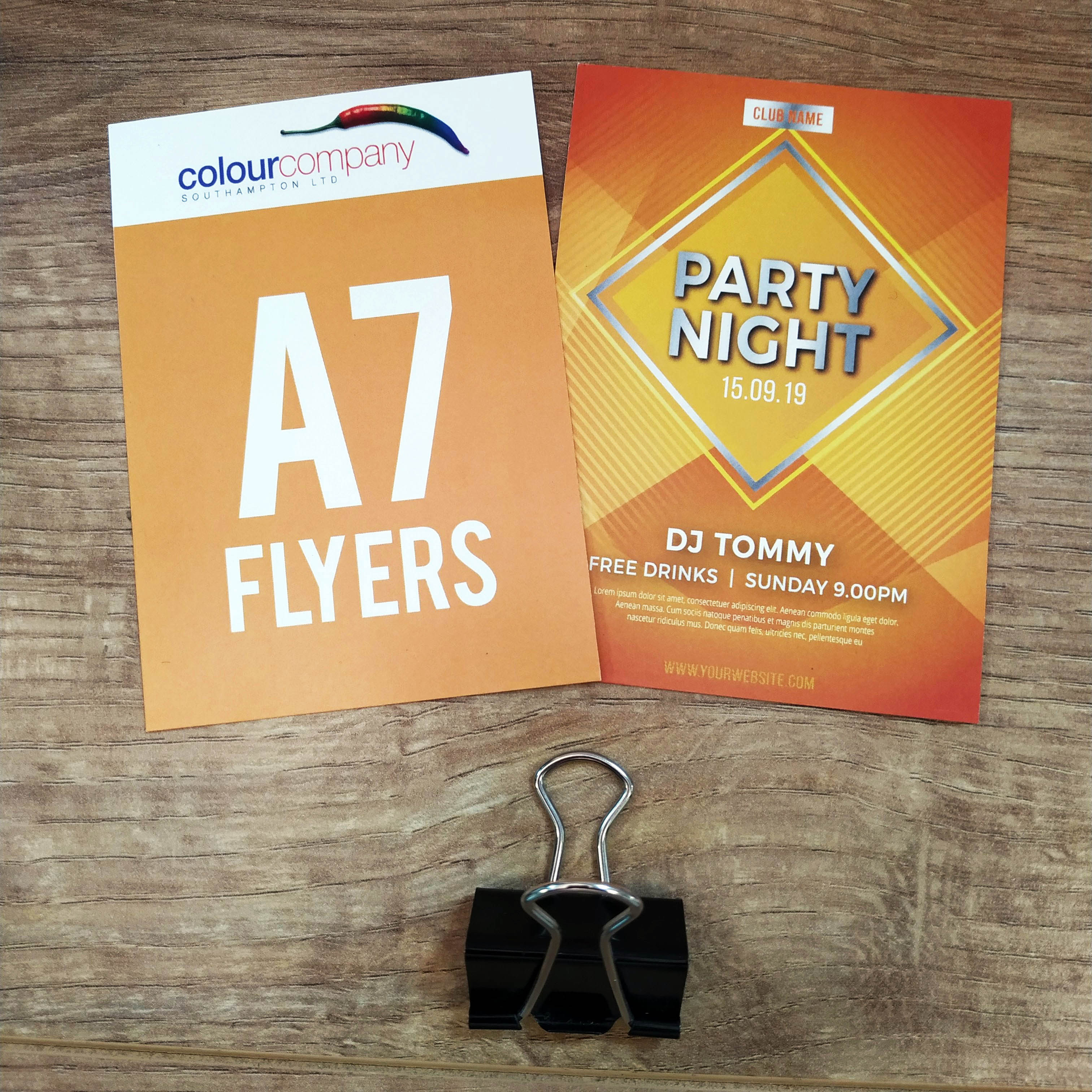 A7 Leaflets and Flyers
